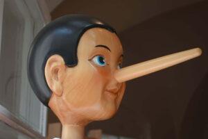 świadek kłamie